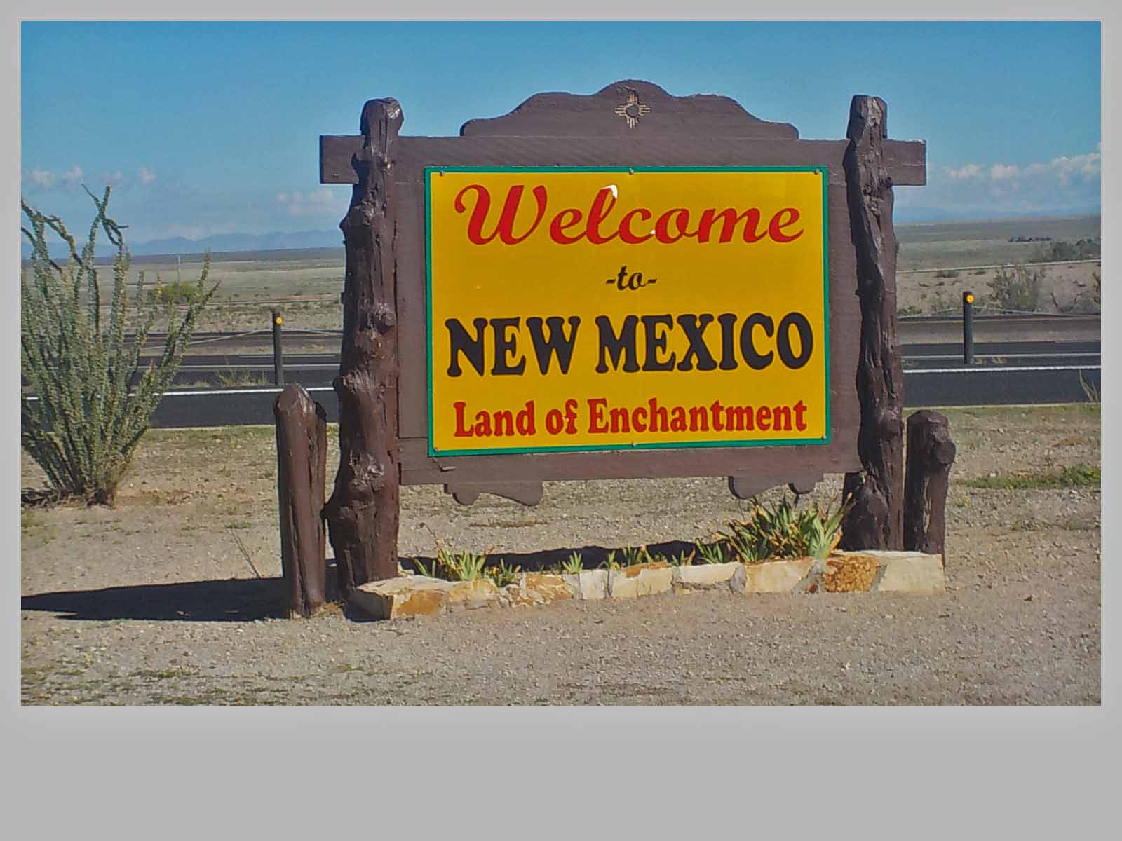 For this trip only one night in New Mexico at Las Cruces.  The Hatch Chile capital!  Jan and I are into hot peppers and hot sauces.  New Mexico is calling us back...maybe next year.