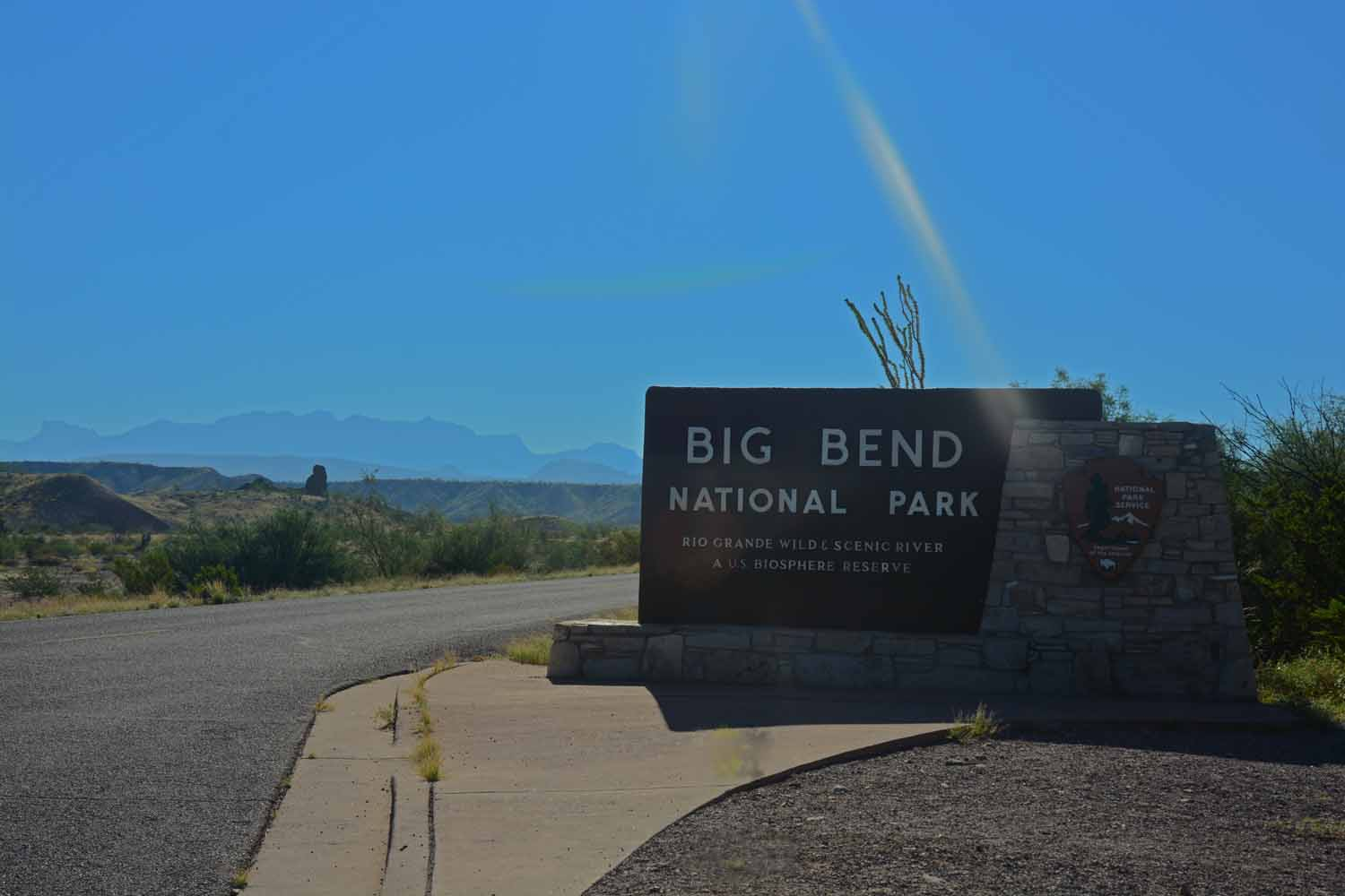 Looking forward to checking out the Big Bend National Park.  This park has been on our list for a long time.  Good to be here now!