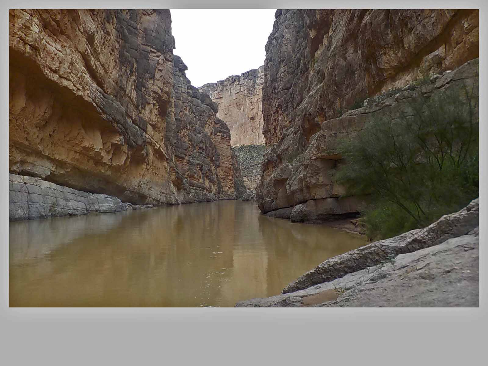 Santa Elena Canyon was a fun experience