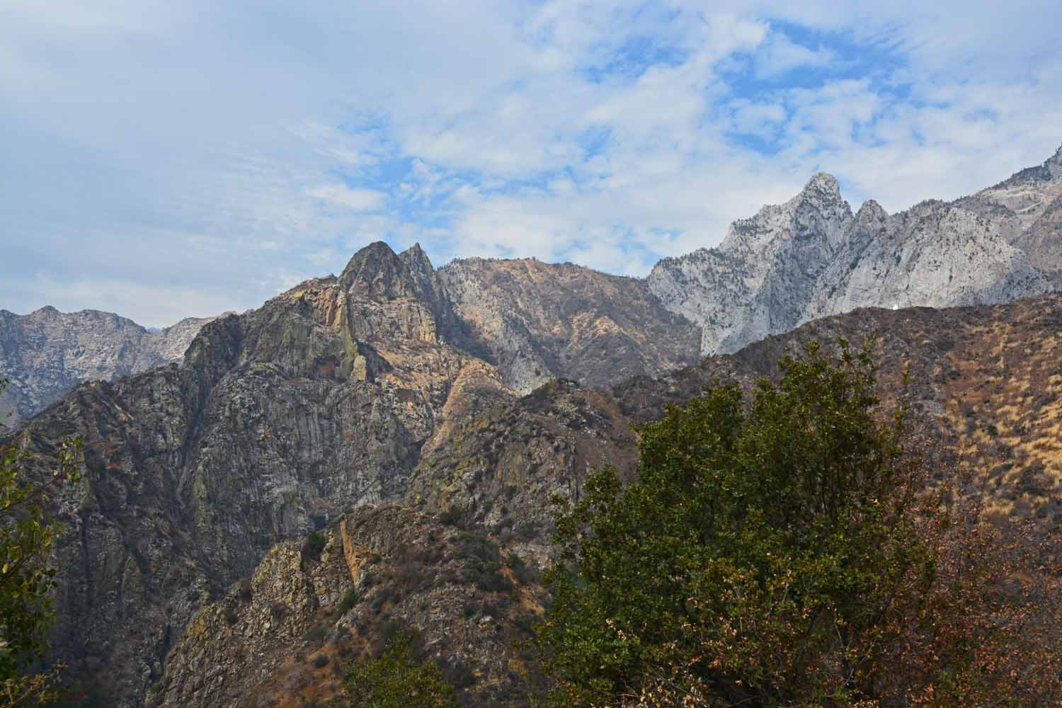 King's Canyon was a great experience.  Lots of mountain views.