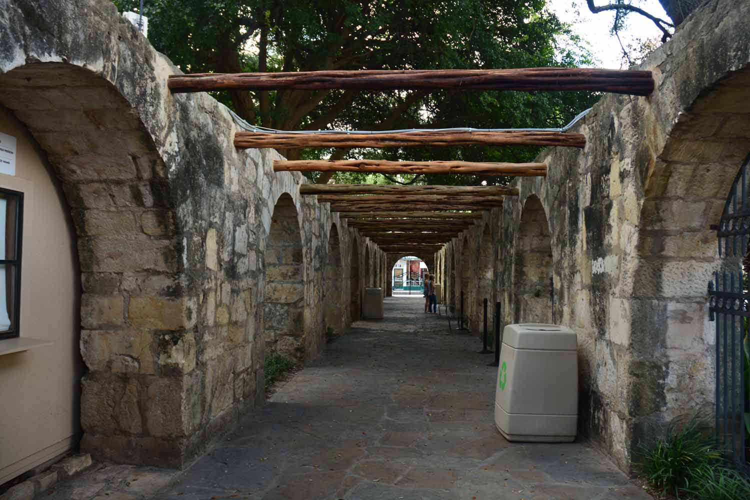 Alamo has lots of interesting corners to check out...