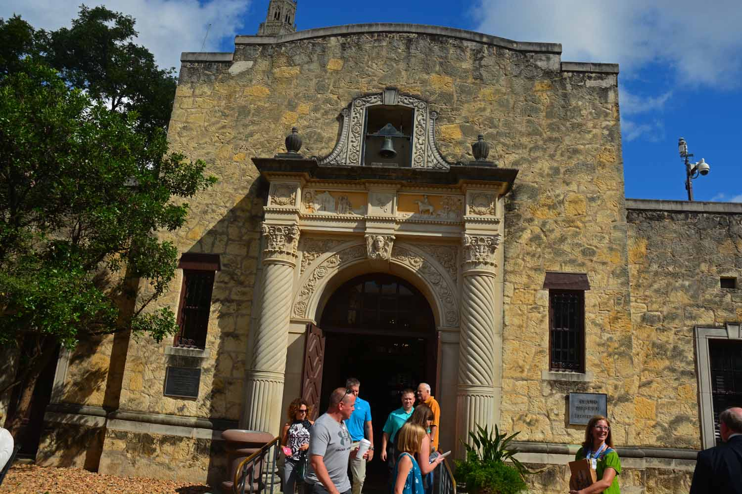 The Alamo Mission has withstood the test of time...
