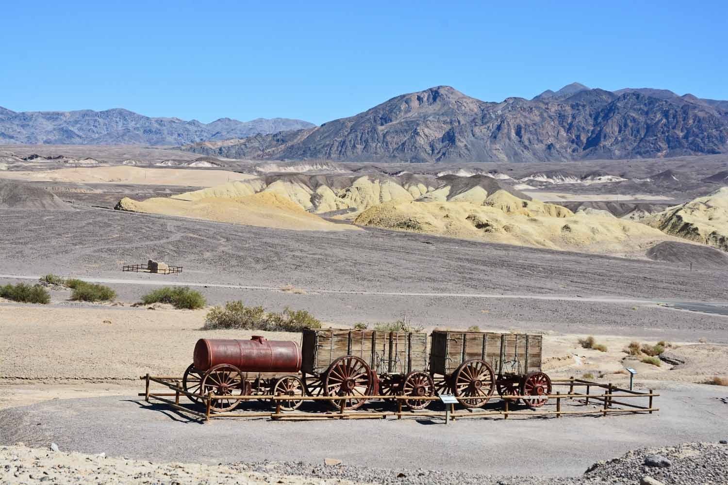 Death Valley is where 20 team Borax originally came from.  Actually it was 18 mules and two guide horses.  They needed the mule power to get their product up and out of the valley.  The 20 team handle was created by a marketing firm and is still used today.