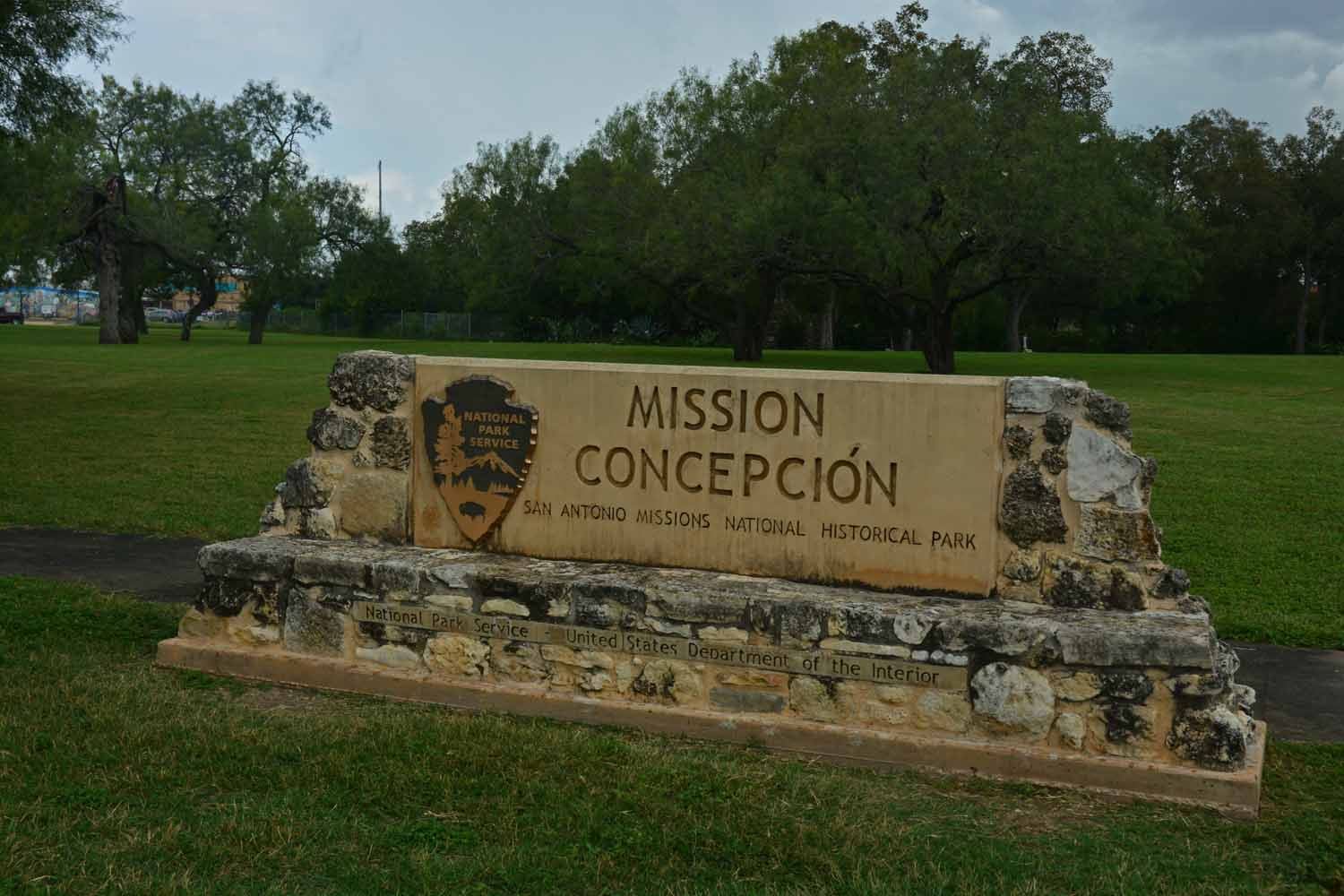 San Antonio has a heritage Mission Tour.  There are five missions including the Alamo.  Mission Concepcion was the first stop after the Alamo.