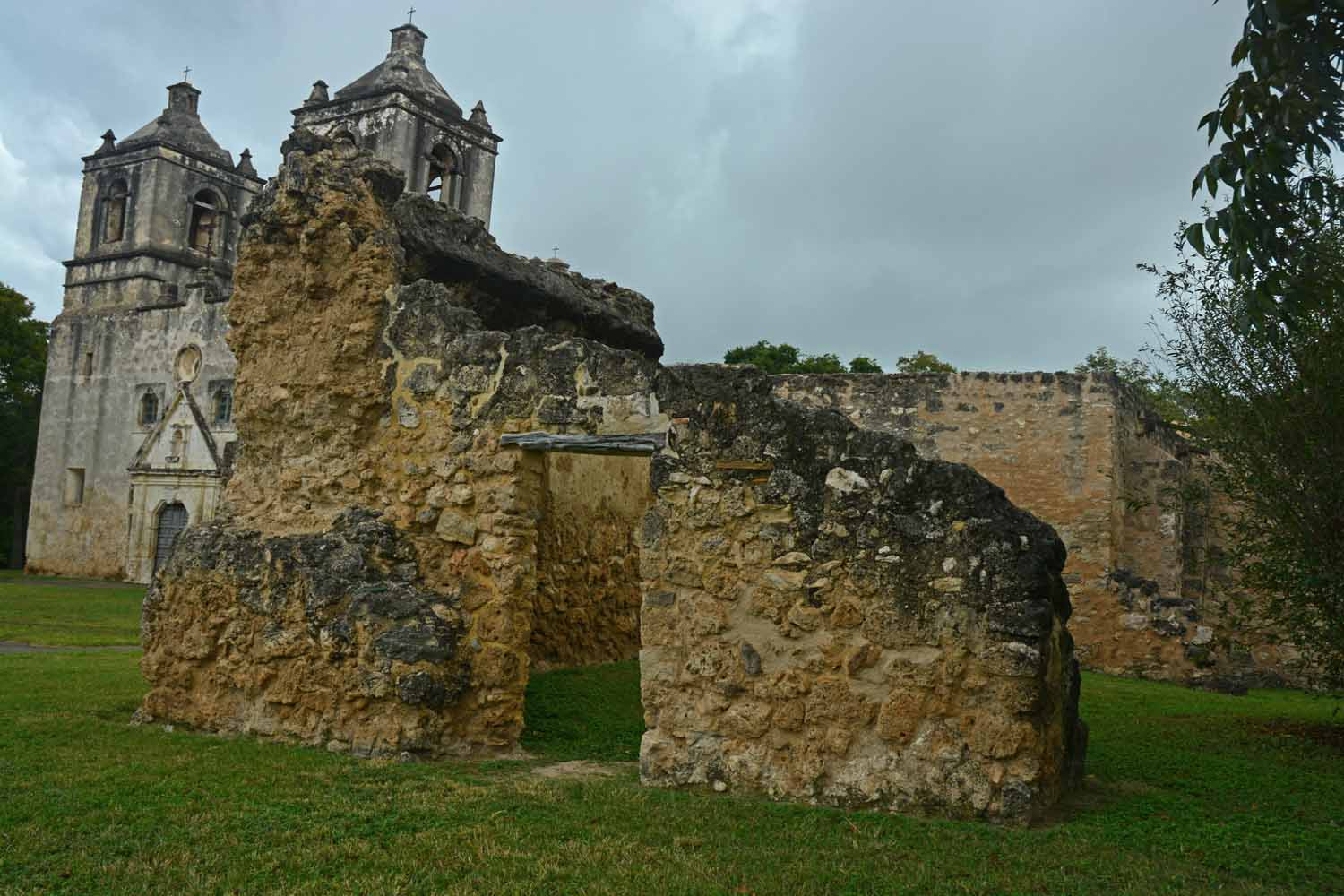 Touring the Missions exceeded expectations. It was great seeing all the old buildings even on a rainy day.