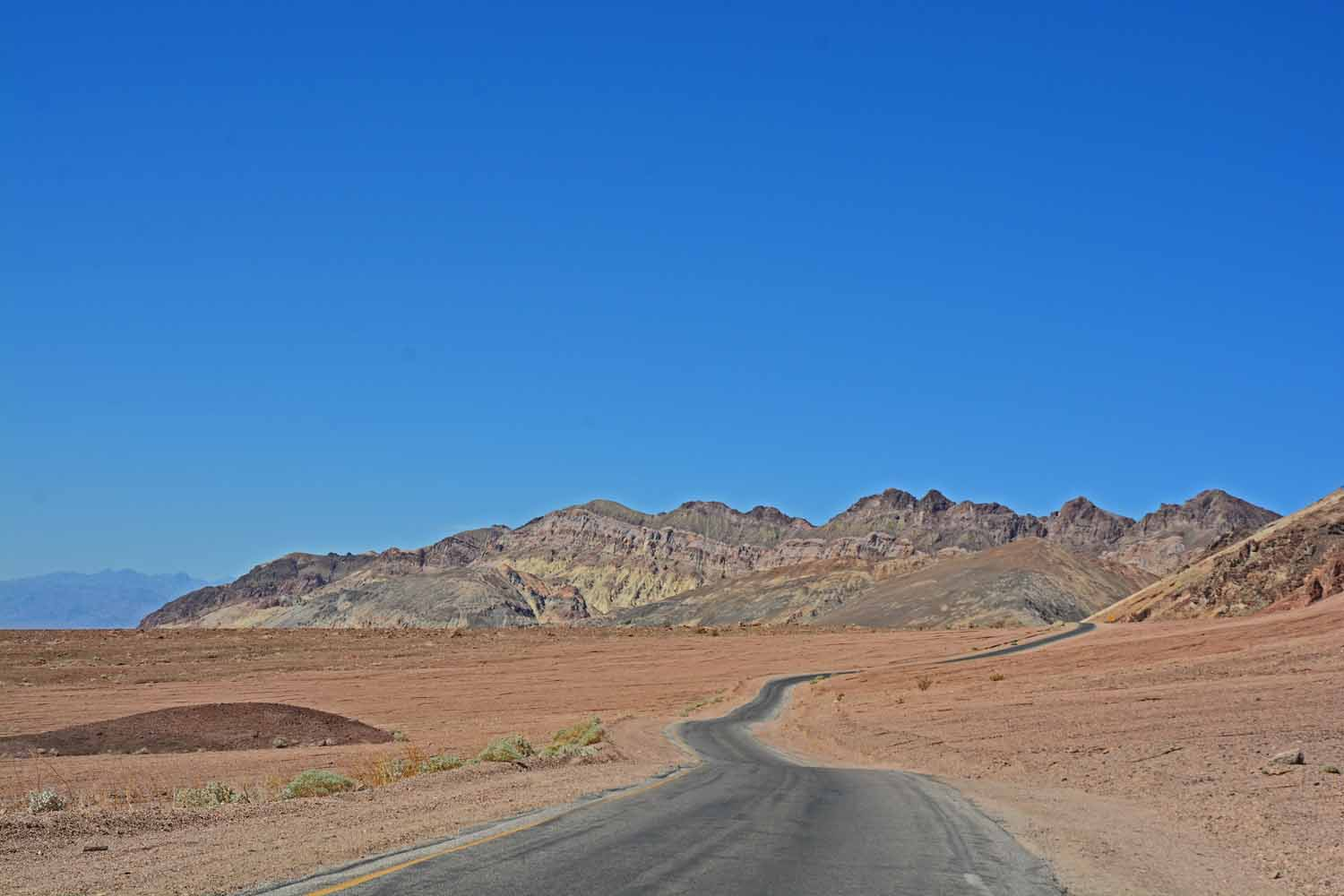 Death Valley is a long winding trail.  As I said before we drove over 250  miles checking it out.