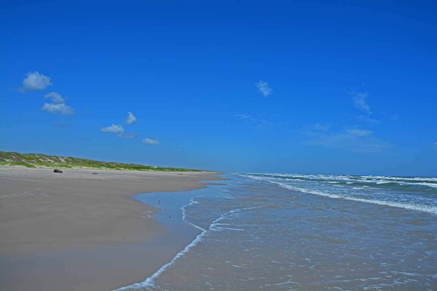 North Padre Island beach goes for over 65 miles