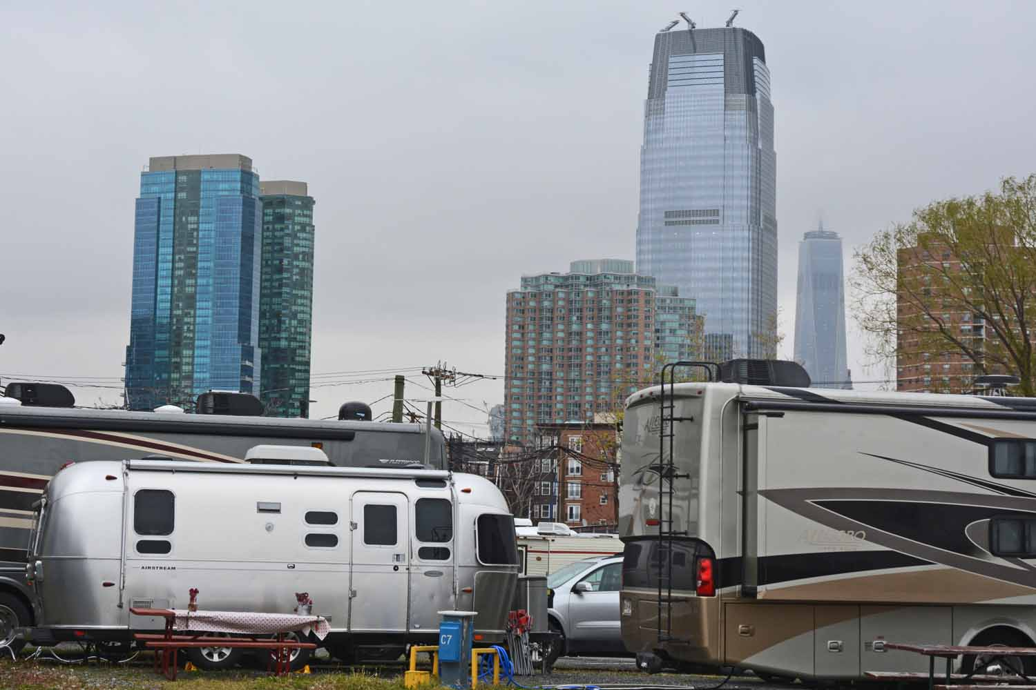 Life on the road takes to the big cities...this time New York City in the Spring
