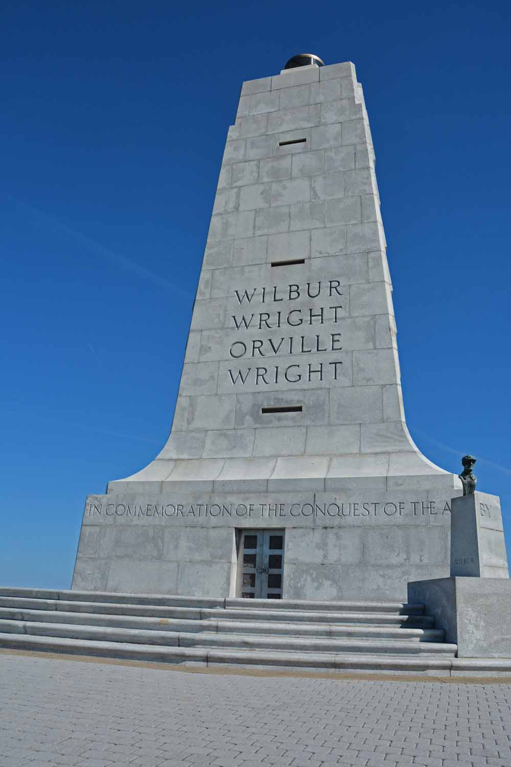 The east coast has plenty of history...here is an educational walk in the footsteps of the Wright Brothers