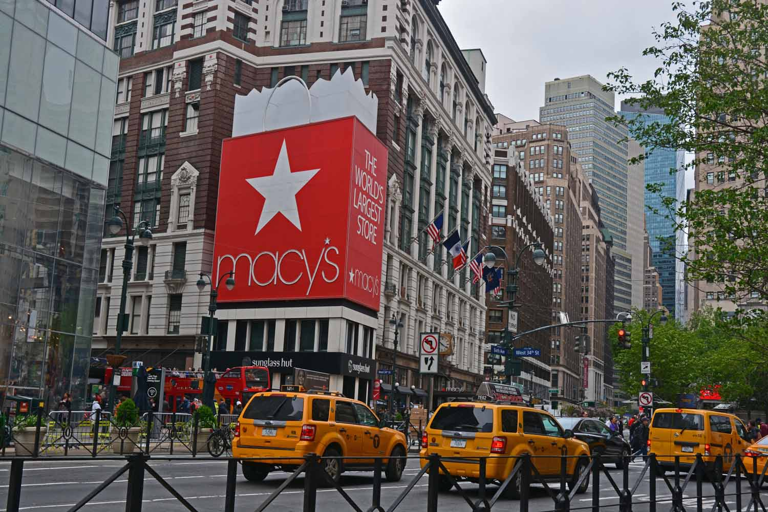 What is a trip to the Big Apple without a stop at Macy's