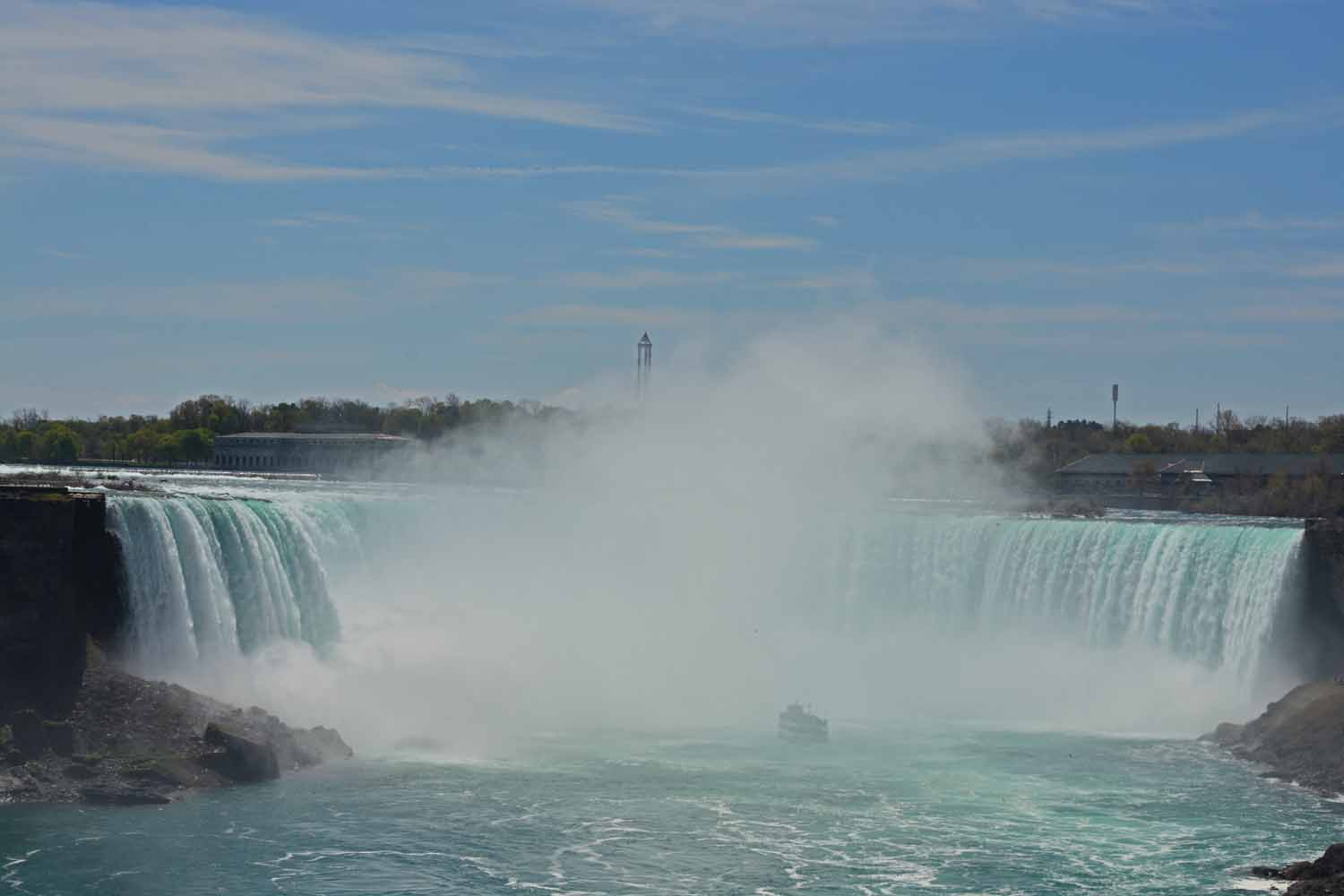 Niagara Falls is one place you will find plenty of tourists