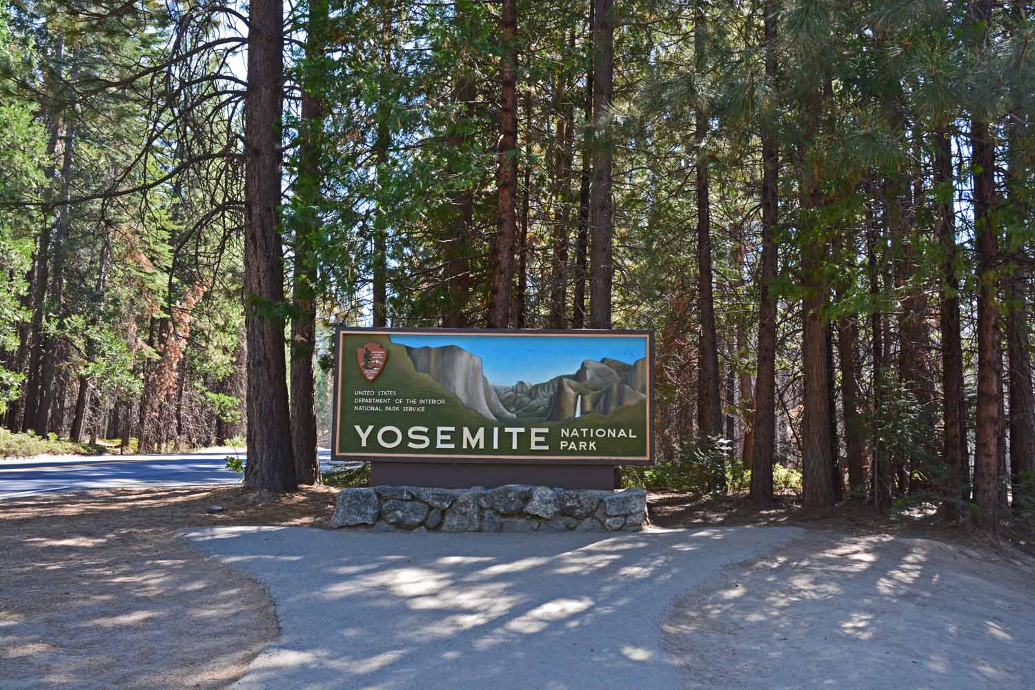 Yosemite National Park was a bucket list stop
