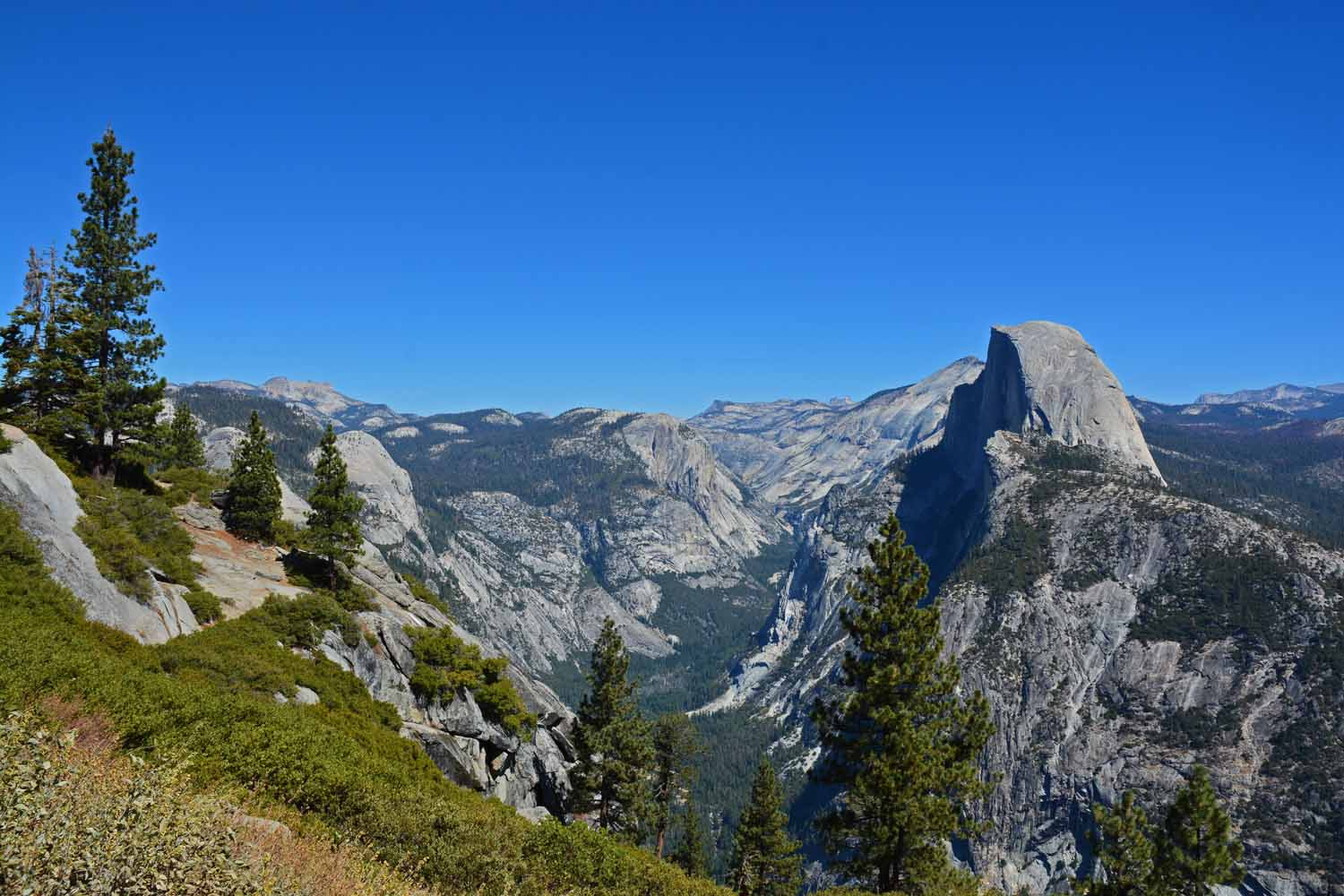 Half Dome gets a lot of attention...fun experience