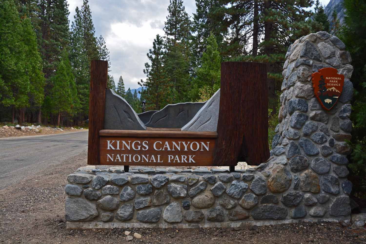 Sequoia and Kings Canyon National Park are side by side...however getting from one to the other is an entire days adventure...