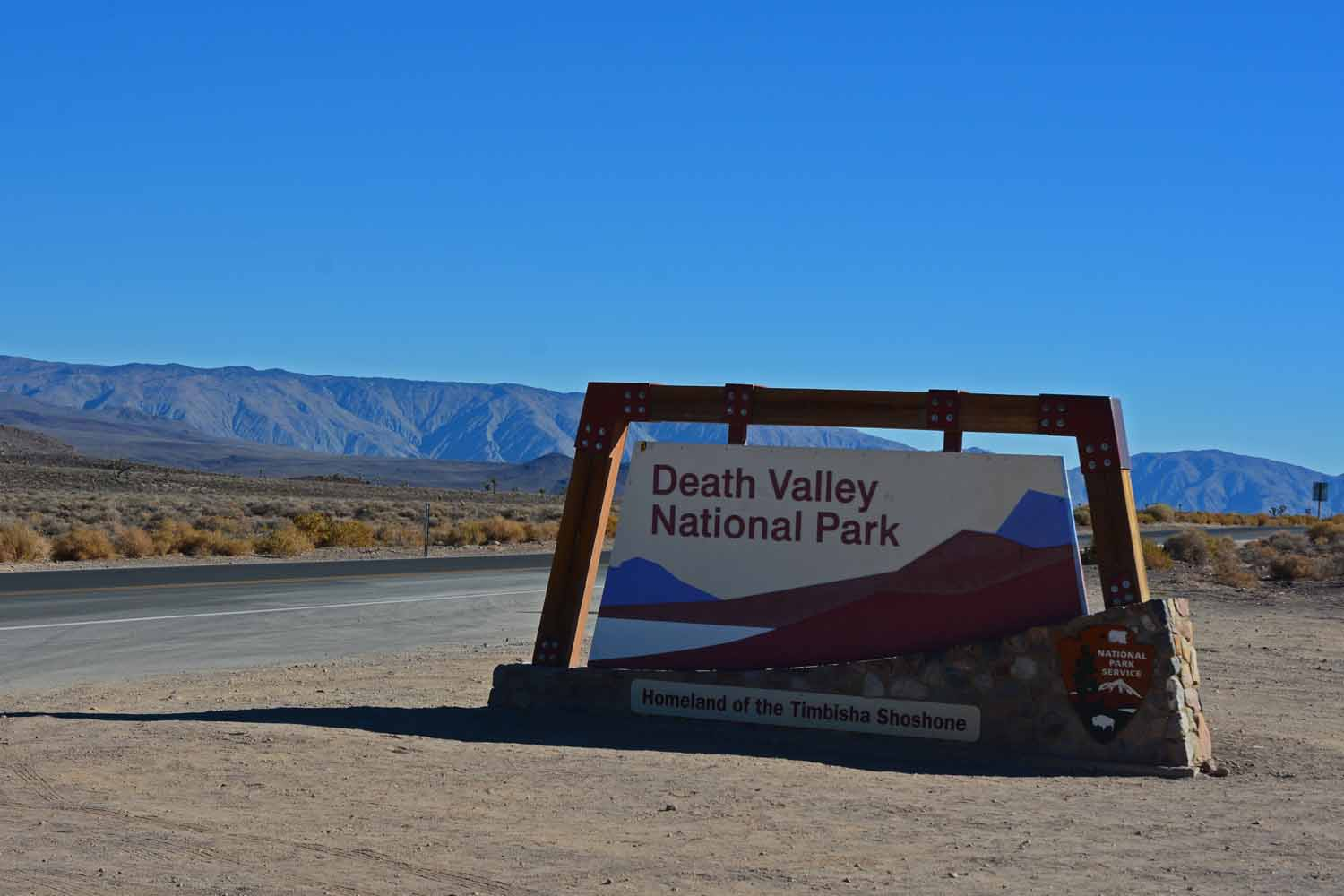 Heading south from Northern California you get to the desert...Death Valley held our interest for several days