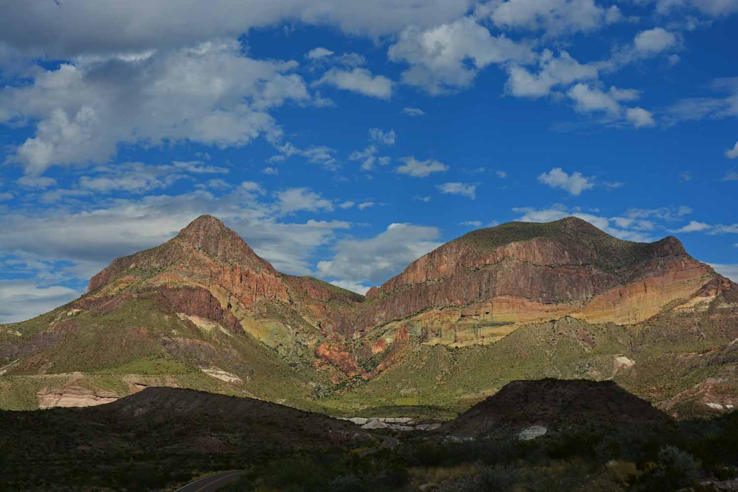 ...of course the Big Bend  mountains had to be documented using the old Nikon!