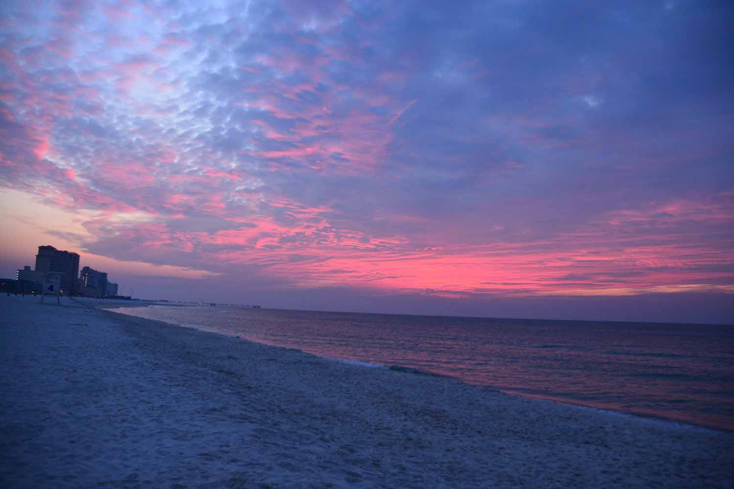 What is a blog post without a sunrise and sunset shots...Sunrise Gulf Shores