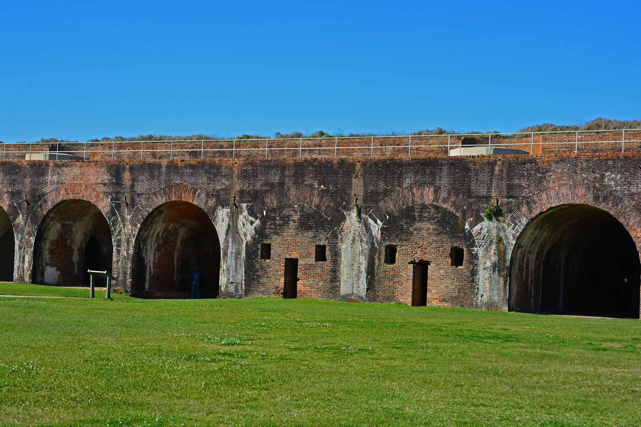 Fort Morgan is alway a fun experience with so much history to explore.  The photo opts are endless.
