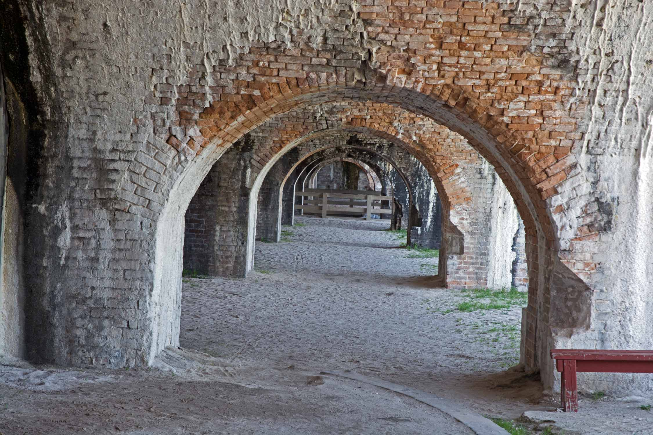 This is Fort Pickens.  This is now a screen saver image for my laptop.