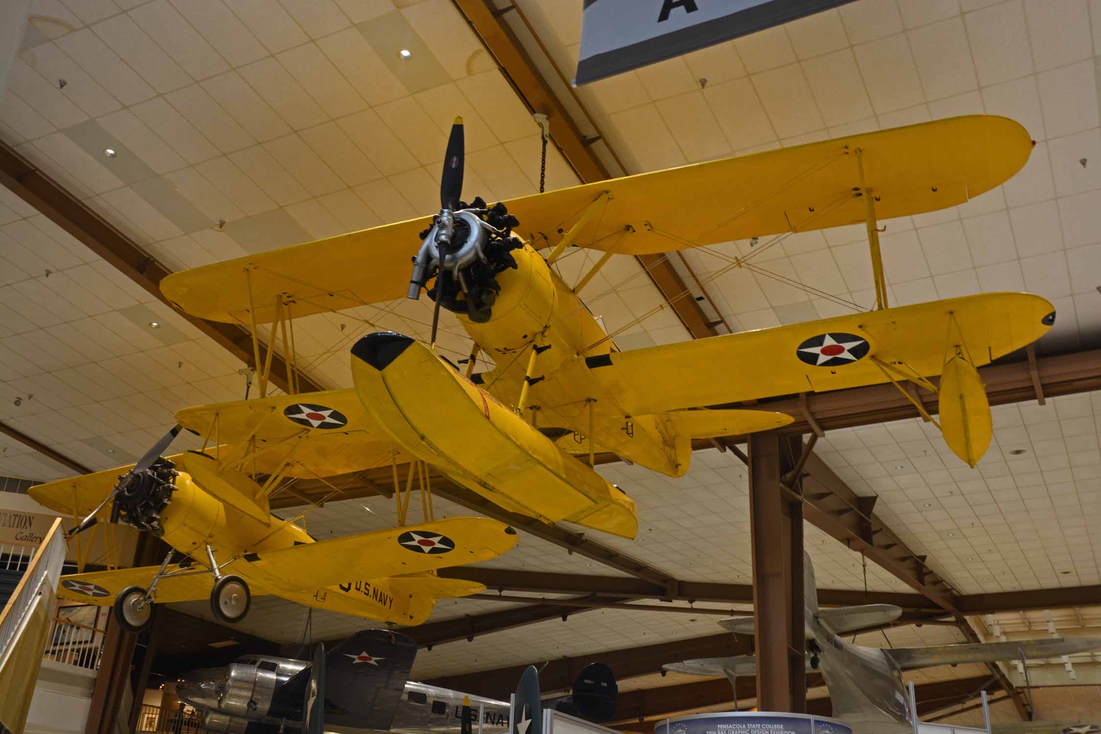 Ok, so what is a visit to Pensacola without a stop at the National Navy Aviation Museum