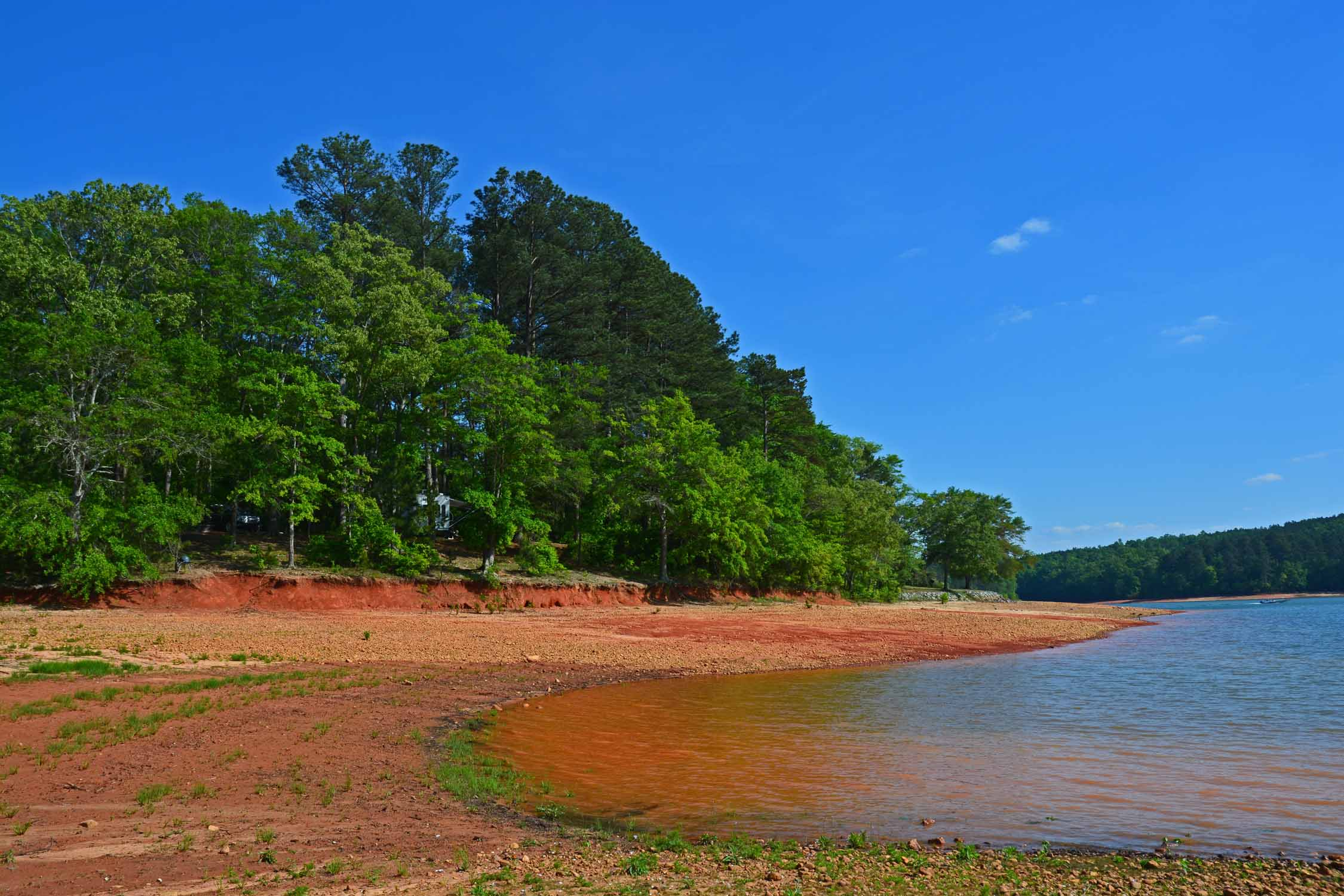 Lake Hartwell in South Carolina always calls us back...