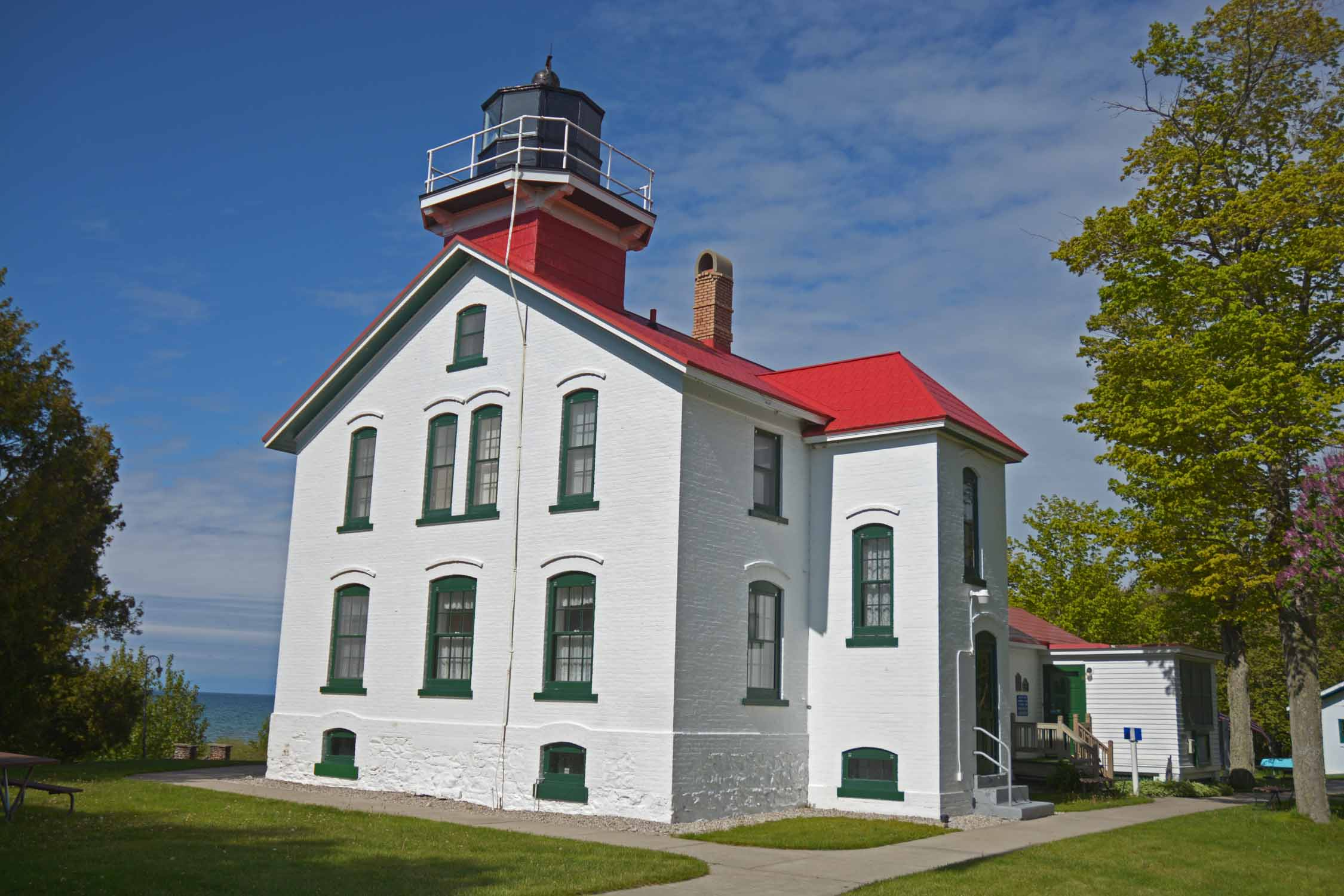 It was good to get out to the Northport Light house and Leelanau State Park