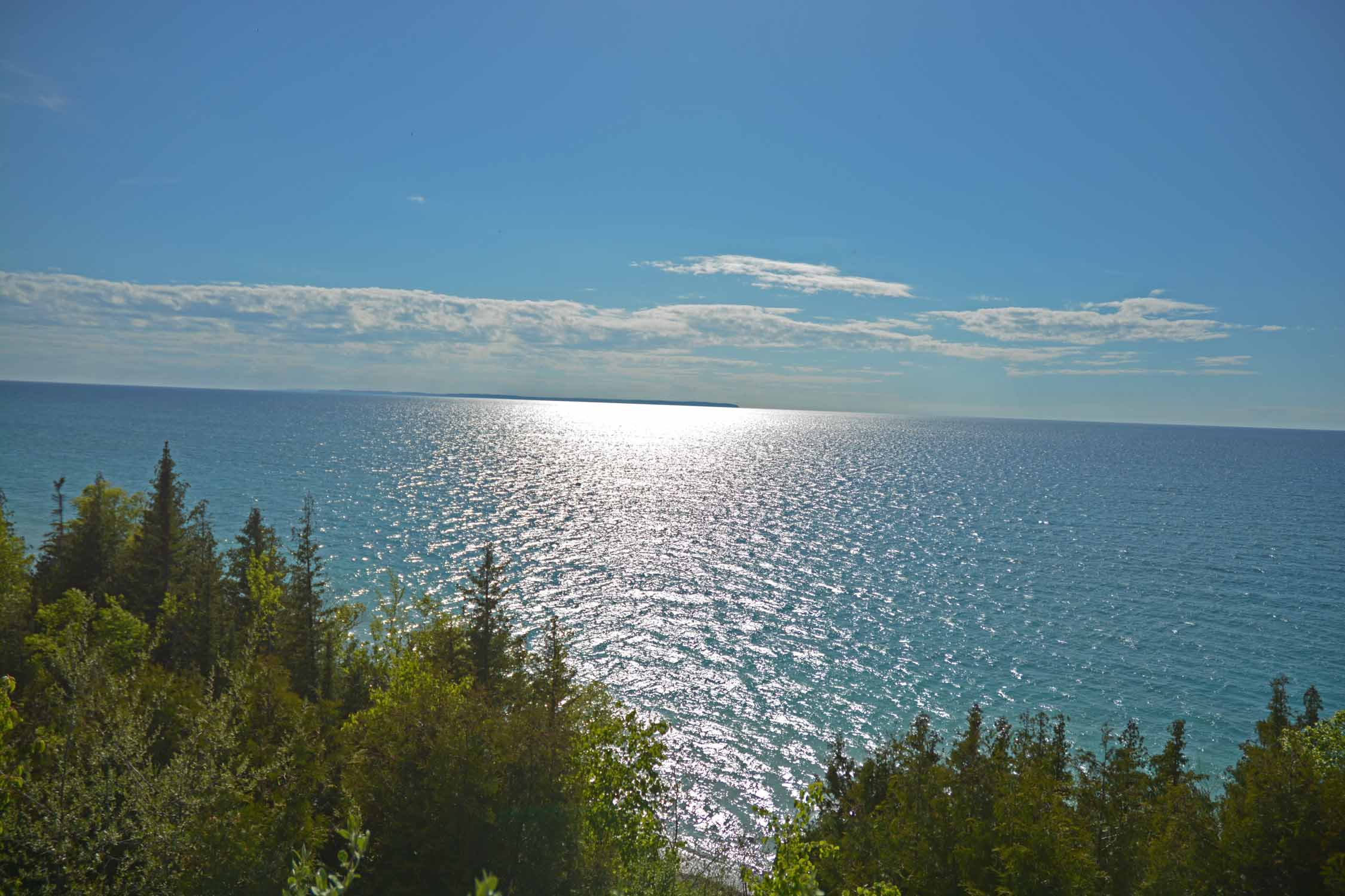 Yes, we will miss views like this of Lake Michigan which have been part of our life for over 50 years.