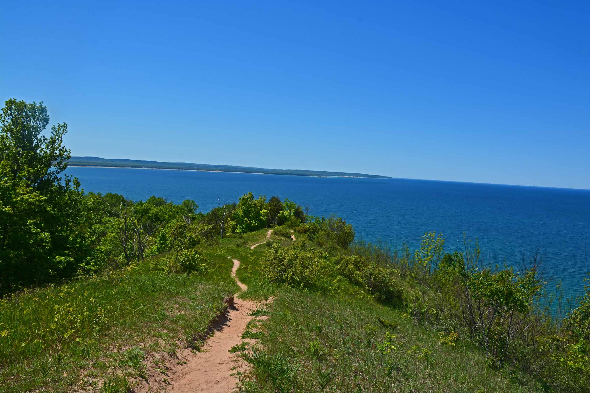 The hike over the dunes has fantasic views