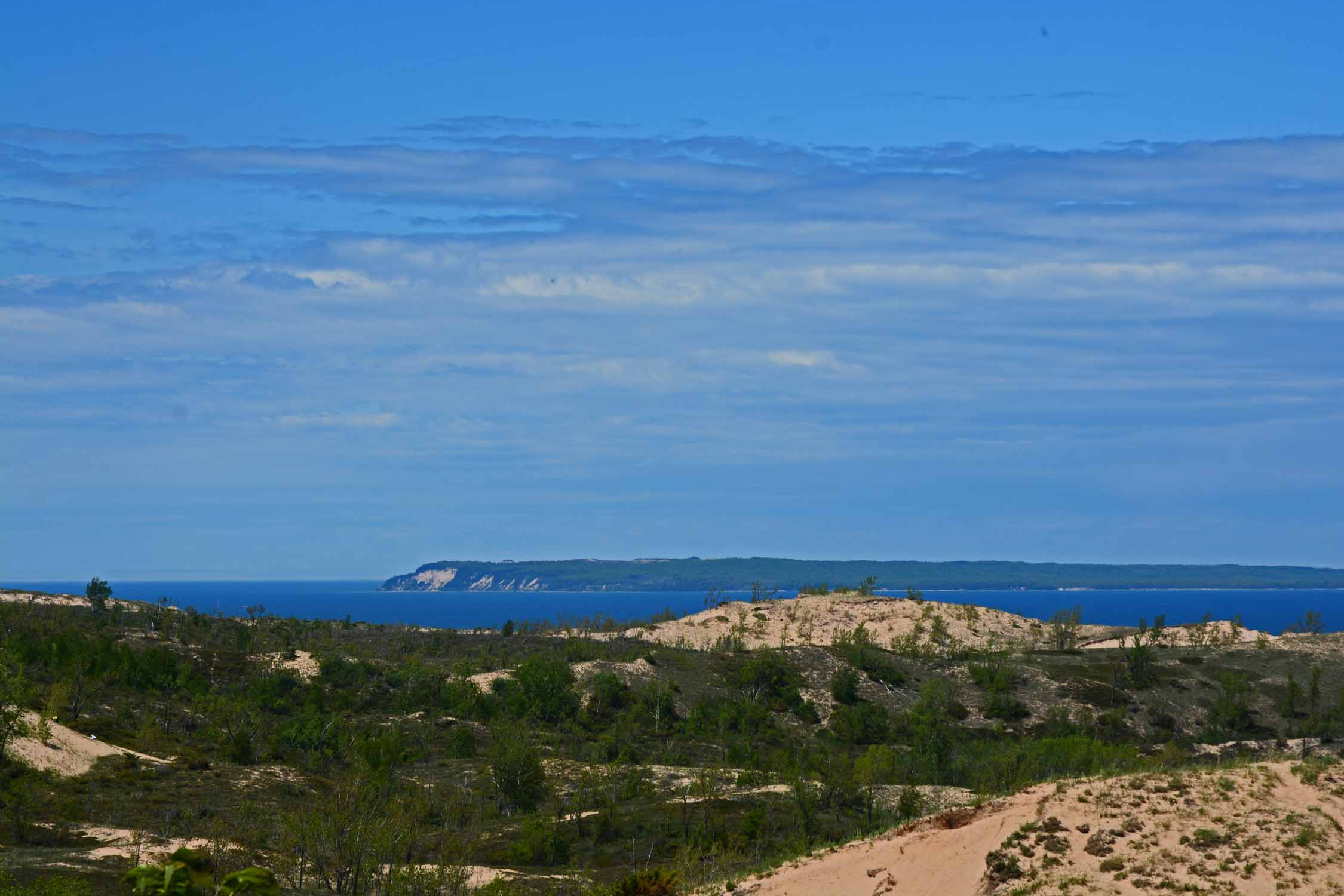 Manitou Island as viewed from the Stocking Drive